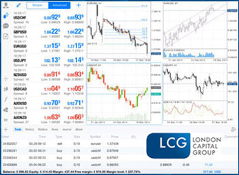 London Capital Group provides: MetaTrader-4 and a WebTrader